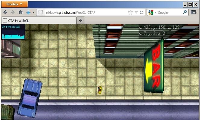 WebGL GTA1 demo « GTAMP com