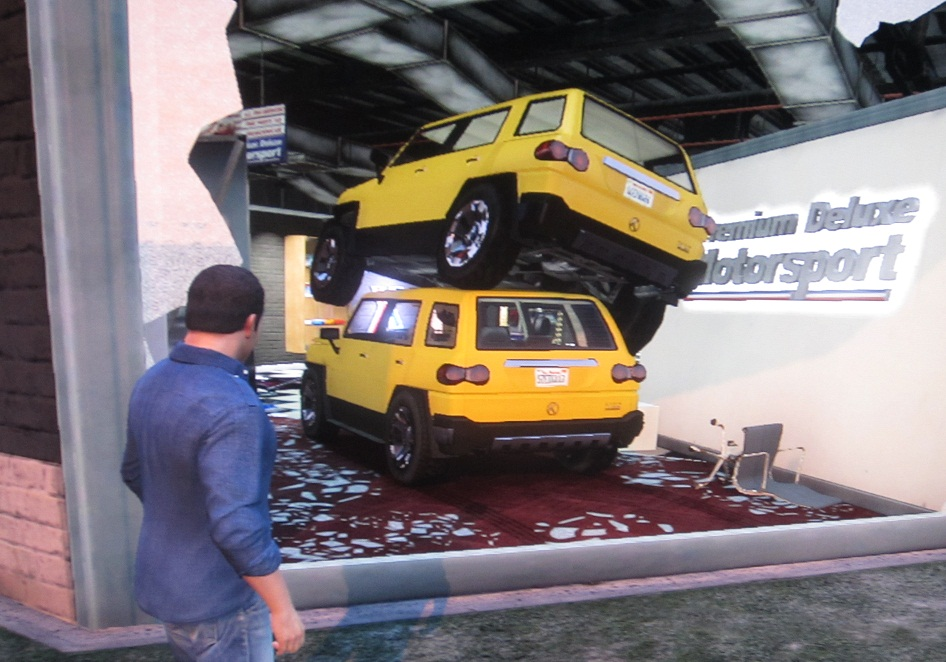 GTA V parking job